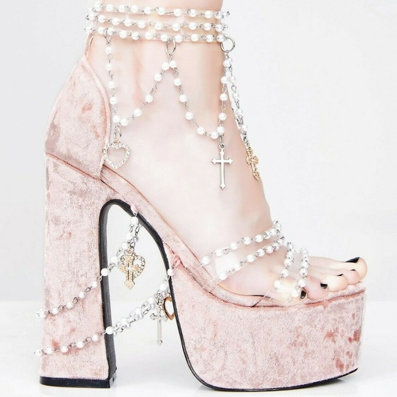 Holy Revelation Platform Heels